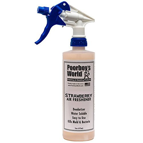 Poorboy's World Strawberry Air Freshener 16oz