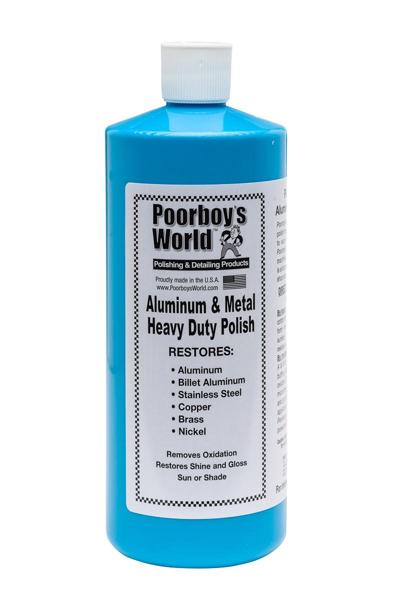 How To Polish Aluminum Wheels >> Poorboy's World Heavy Duty Aluminium & Metal Polish ...