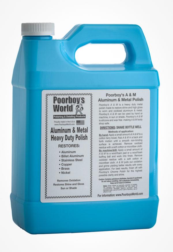 Poorboy's World Heavy Duty Aluminium & Metal Polish 128oz