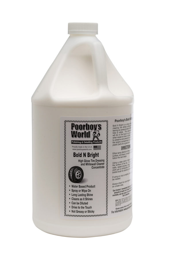 Poorboy's World Bold N Bright Tyre Dressing 128oz