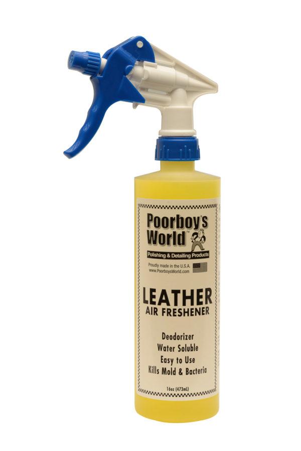 Poorboy's World Leather Air Freshener 16oz