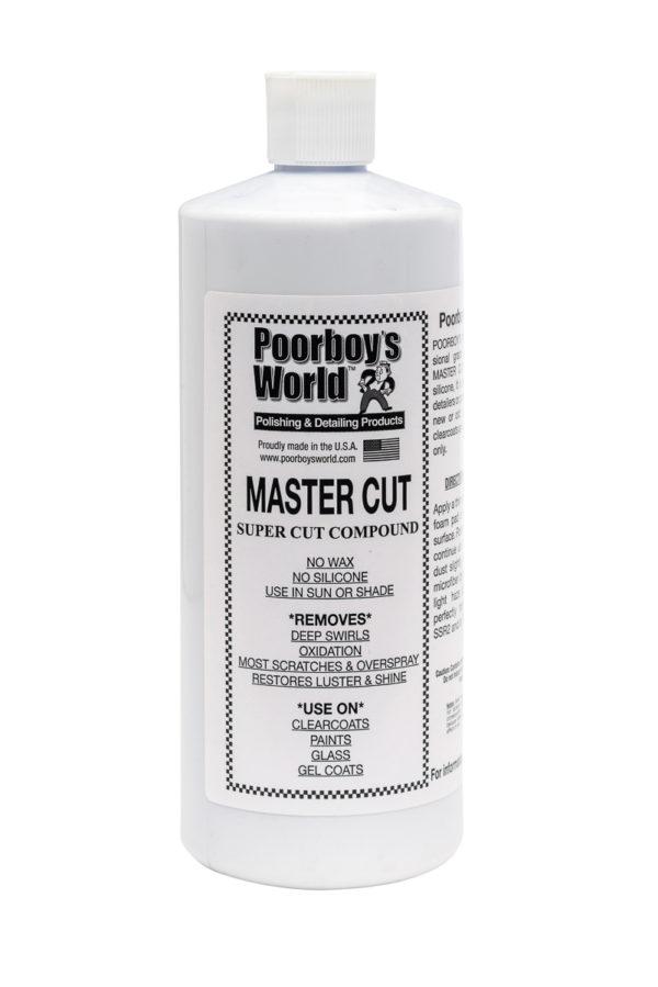 Poorboy's World Master Cut Heavy-Duty Compound 16oz