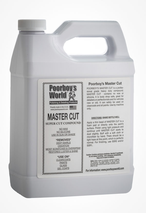 Poorboy's World Master Cut Heavy-Duty Compound 128oz