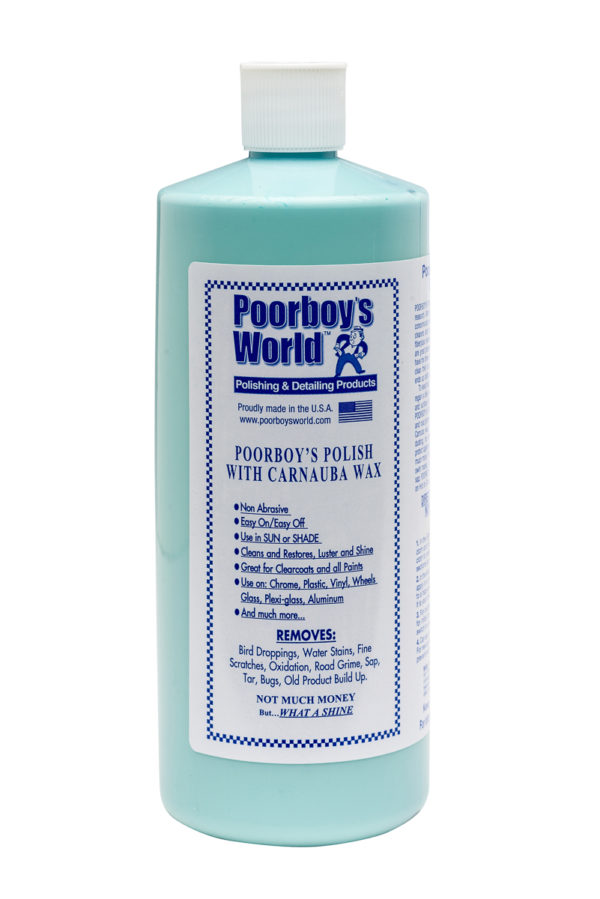 Poorboy's World Polish with Carnauba Blue 32oz