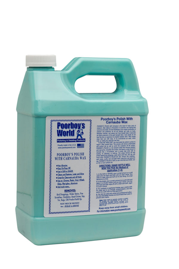 Poorboy's World Polish with Carnauba Blue 128oz