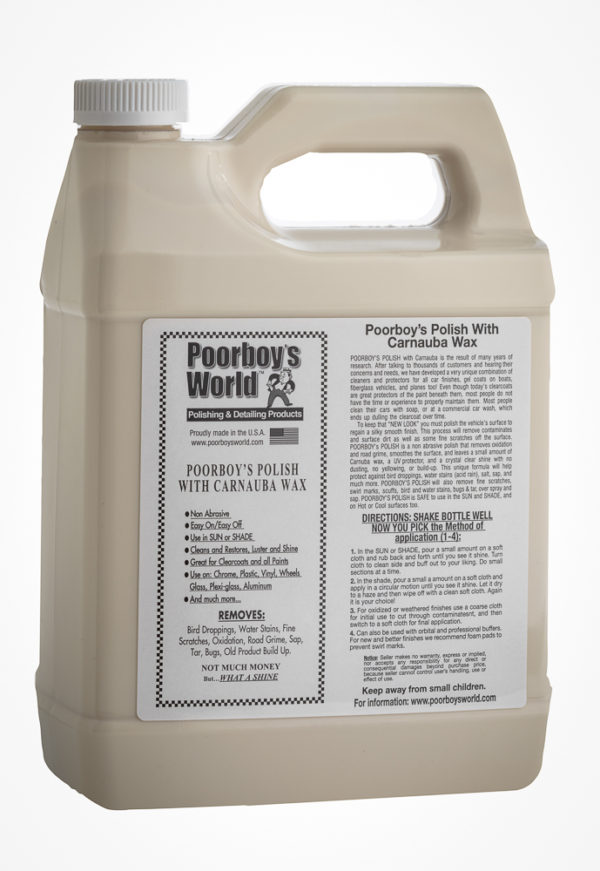 Poorboy's World Polish with Carnauba 128oz