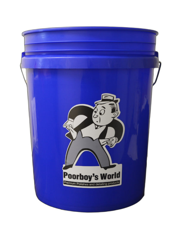 Poorboy's World Bucket Blue