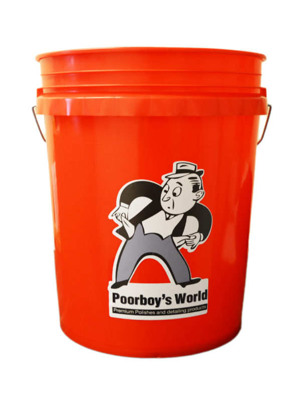 Poorboy's World Bucket Red