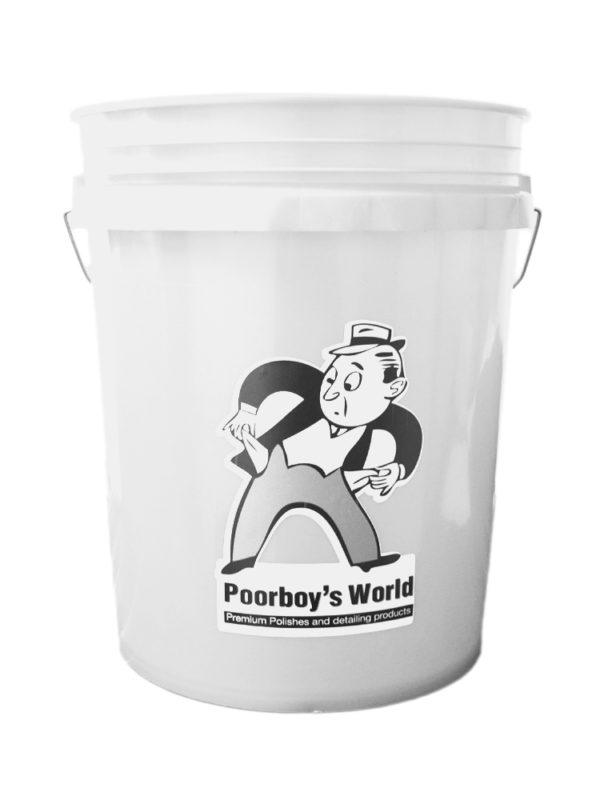 Poorboy's White Bucket White