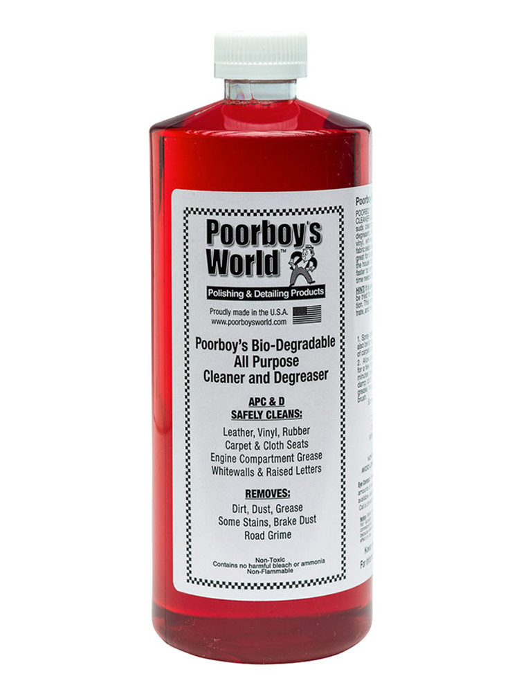 Poorboy S World Bio Degradable All Purpose Cleaner