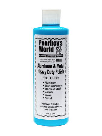 Poorboy's World Aluminium and Metal Heavy Duty Polish 16oz