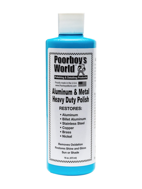 Poorboy's World Aluminium and Metal Heavy Duty Polish 16oz