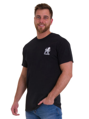 Poorboys World Black T-Shirt Front