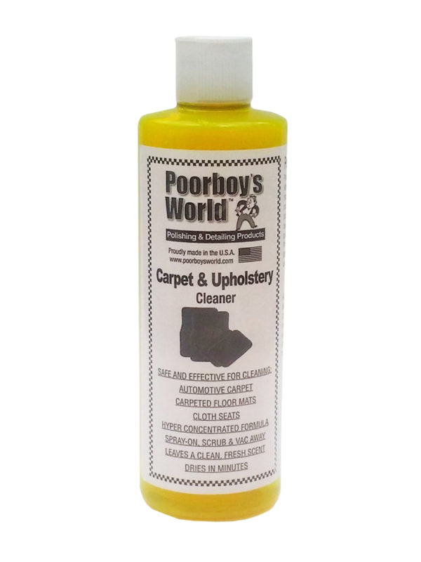 Poorboy's World Carpet and Upholstery Cleaner 16oz