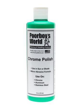 Poorboy's World Chrome Polish 16oz