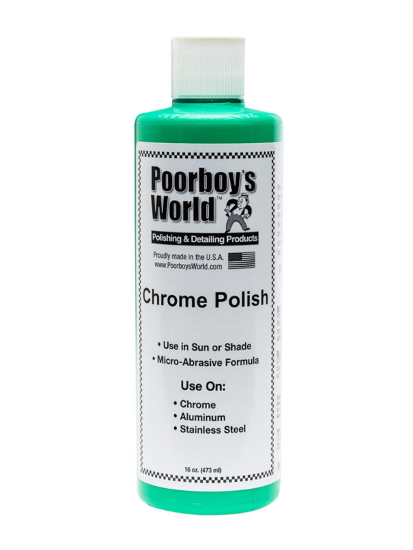 Poorboy's World Chrome Polish 16oz