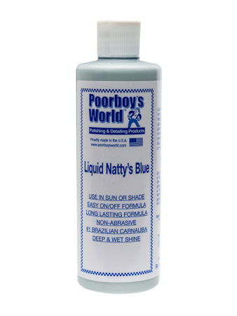 Poorboy's World Natty's Liquid Blue Wax 16oz