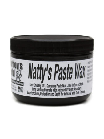Poorboy's World Natty's Paste Wax Black 8oz
