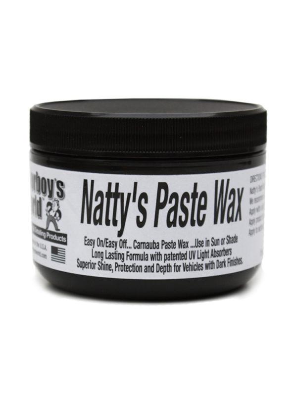 Poorboy's World Natty's Paste Wax Black 8oz