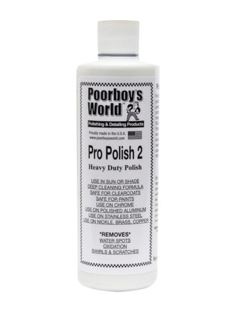 Poorboy's World Pro Polish 2 16oz