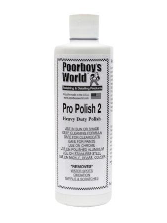 Poorboy's World Pro Polish 2 16oz