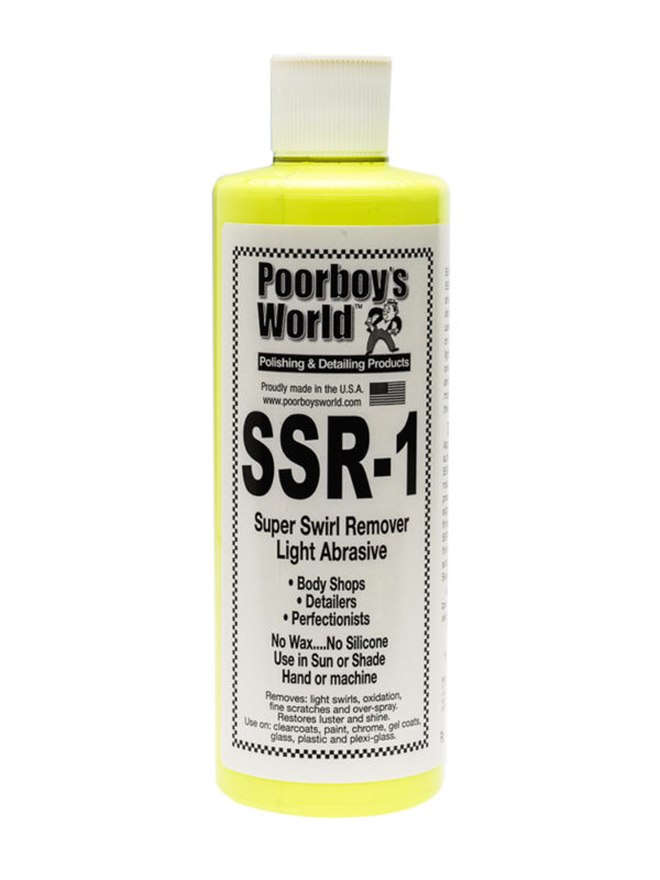Poorboy's World SSR1 Super Swirl Remover 16oz