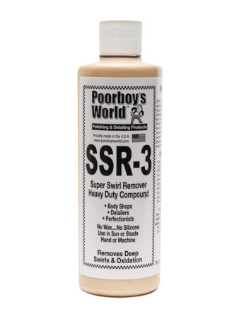 Poorboy's World SSR3 Super Swirl Remover 16oz