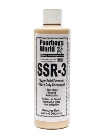Poorboy's World SSR3 Super Swirl Remover 16oz