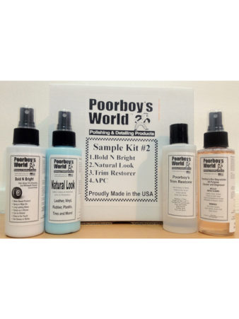 Poorboy's World Sample Kit 2