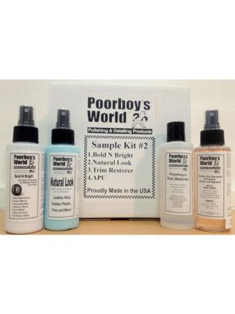Poorboy's World Sample Kit 2