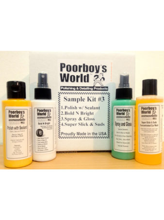 Poorboy's World Sample Kit 3
