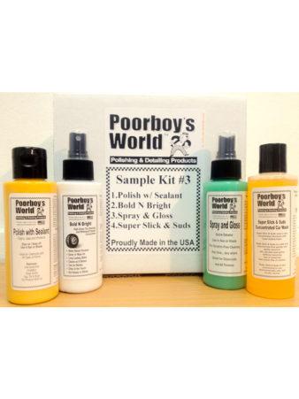 Poorboy's World Sample Kit 3