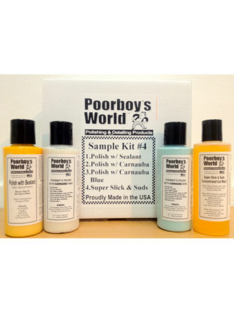 Poorboy's World Sample Kit 4