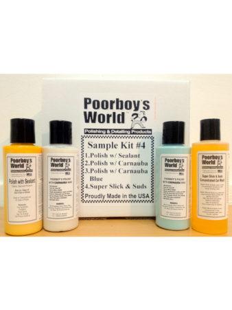Poorboy's World Sample Kit 4