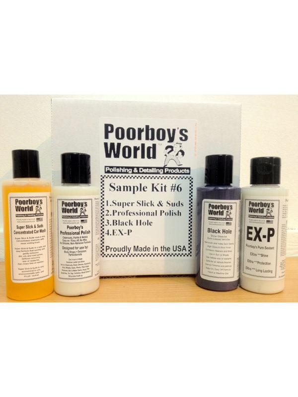 Poorboy's World Sample Kit 6
