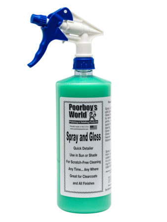 Poorboy's World Spray and Gloss 32oz