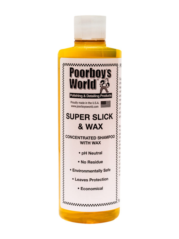 Poorboy's World Super Slick and Wax 16oz