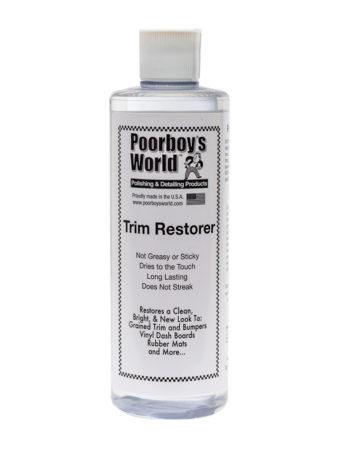Poorboy's World Trim Restorer 16oz