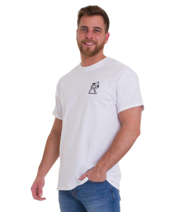 Poorboys World White T Shirt Front