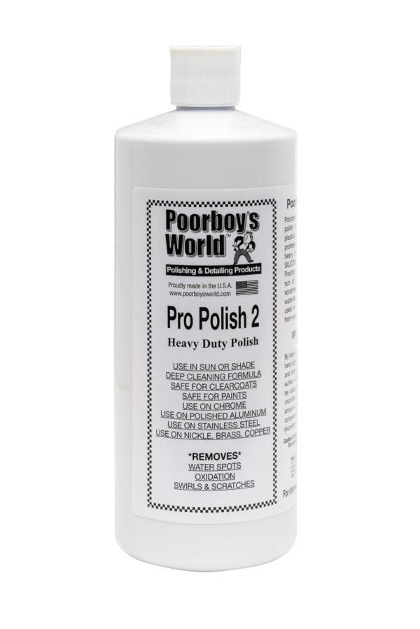 Poorboy's World Pro Polish 2 32oz