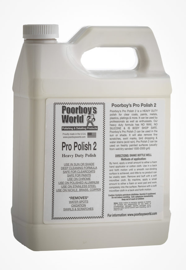 Poorboy's World Pro Polish 2 128oz