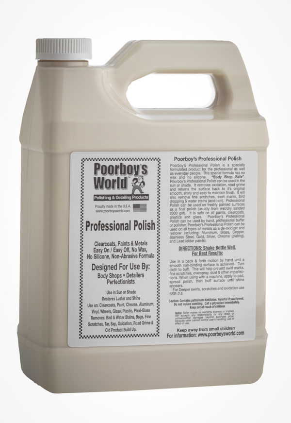 Poorboy's World Professional Polish 128oz
