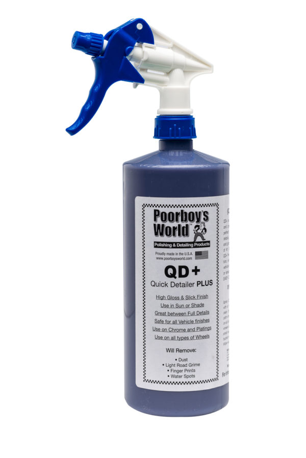 Poorboy's World QD+ Quick Detail Spray 32oz