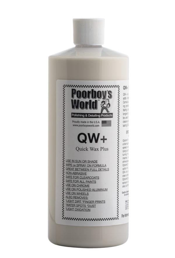 Poorboy's World QW+ Quick Wax Plus 32oz