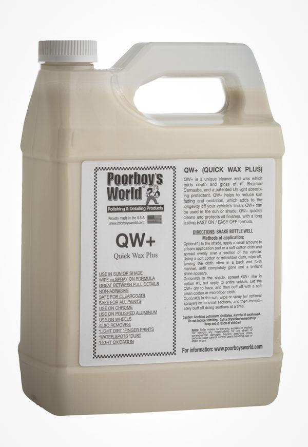Poorboy's World QW+ Quick Wax Plus 128oz