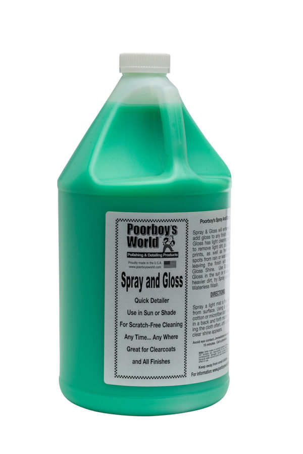 Poorboy's World Spray and Gloss 128oz