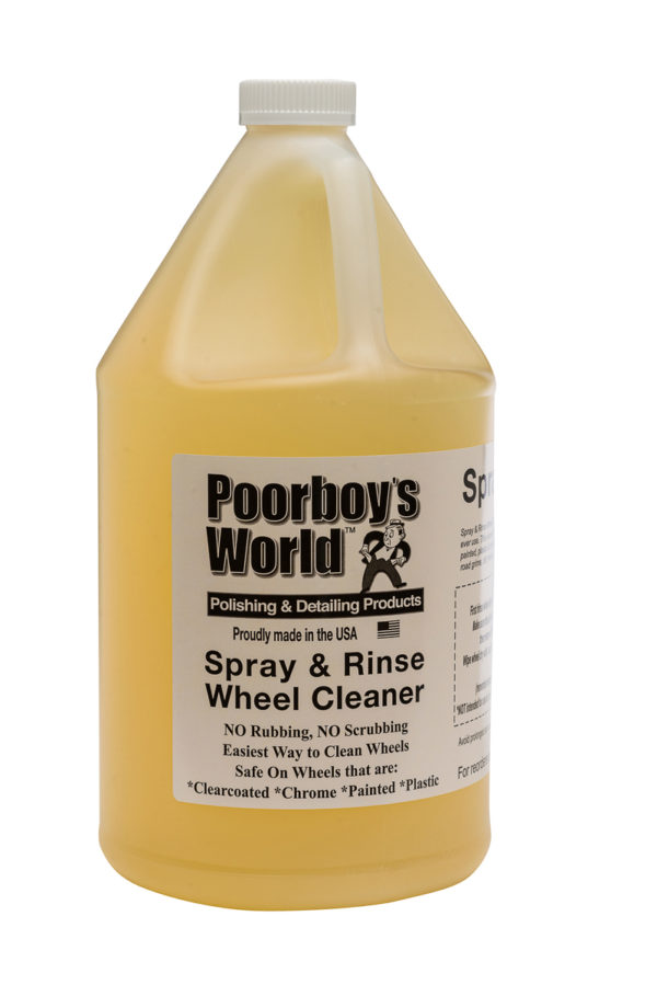 Poorboy's World Spray and Rinse Gallon