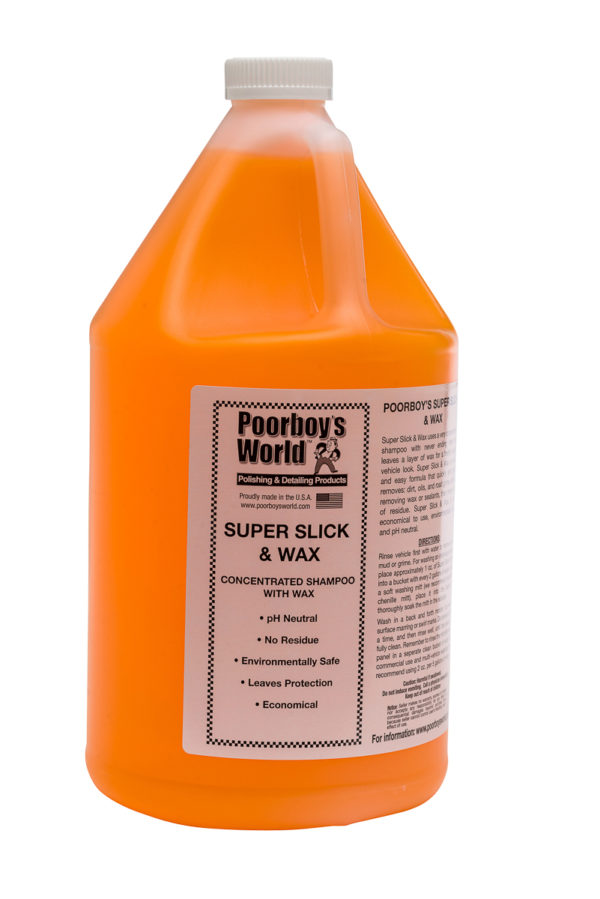 Poorboy's World Super Slick & Wax 128oz