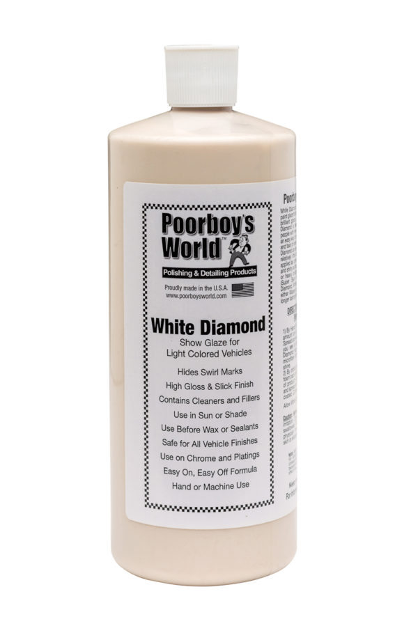 Poorboy's World White Diamond Show Glaze 32oz