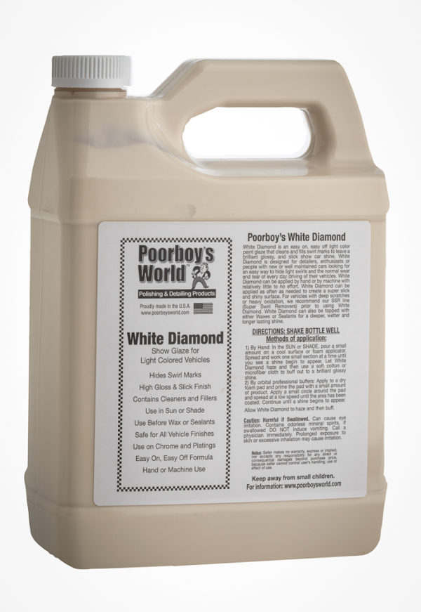 Poorboy's World White Diamond Show Glaze 128oz